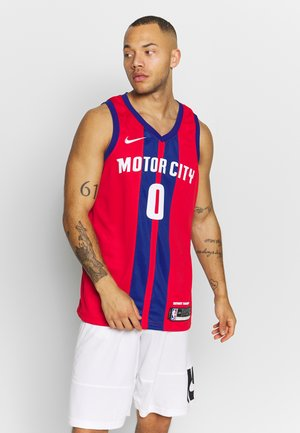 NBA CITY EDITION JERSEY DETROIT PISTONS ANDRE DRUMMOND - Artykuły klubowe - university red/drummond andre