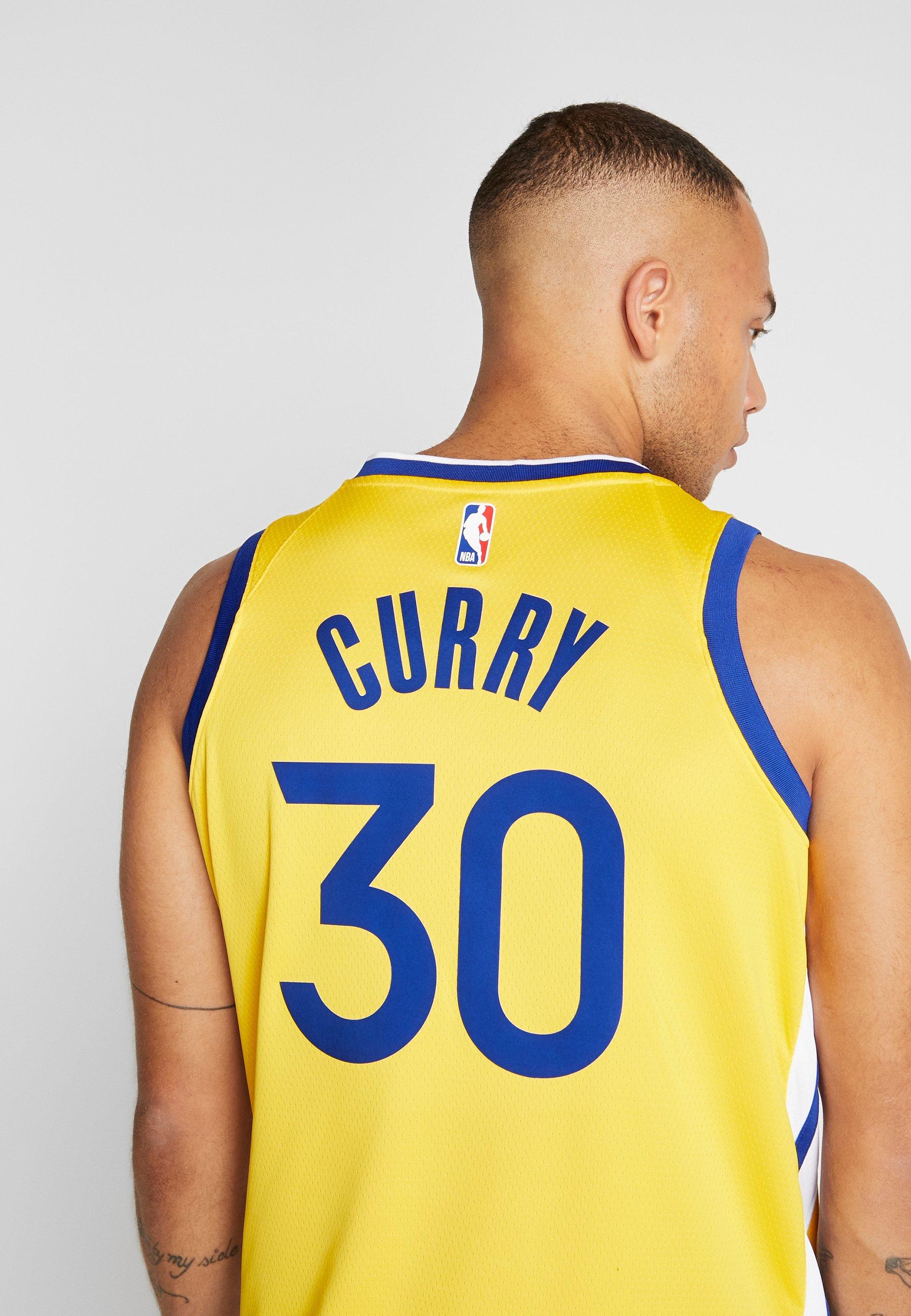Nike Performance NBA GOLDEN STATE WARRIORS STEPH CURRY ALTERNATE SWINGMAN - Artykuły klubowe - amarillo/white/rush blue