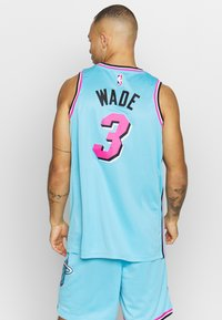 Nike Performance - NBA CITY EDITION JERSEY DWAYNE WADE MIAMI HEAT - Article de supporter - blue gale - 2