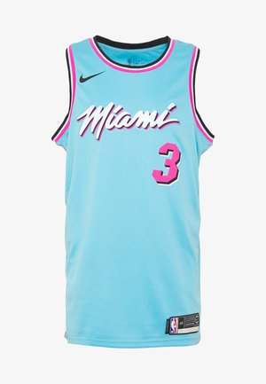 NBA CITY EDITION JERSEY DWAYNE WADE MIAMI HEAT - Klubbkläder - blue gale