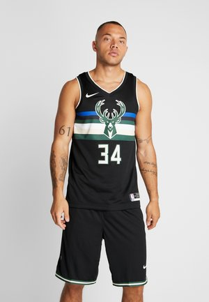 NBA MILWAUKEE BUCKS GIANNIS ANTETOKOUNMPO STATEMENT - Club wear - black