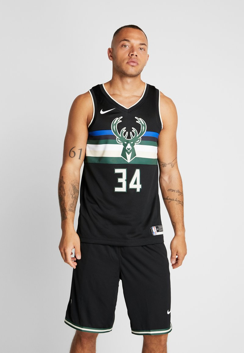 Nike Performance - NBA MILWAUKEE BUCKS GIANNIS ANTETOKOUNMPO STATEMENT - Klubové oblečení - black