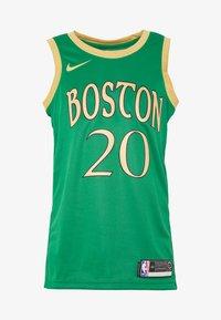 Nike Performance - NBA CITY EDITION BOSTON CELTICS GORDAN HAYWARD - Pelipaita - clover/club gold - 3