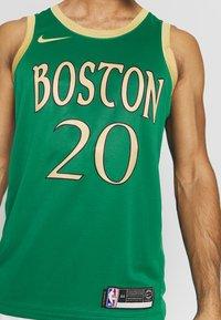 Nike Performance - NBA CITY EDITION BOSTON CELTICS GORDAN HAYWARD - Pelipaita - clover/club gold - 4