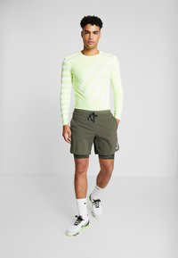 Nike Performance - TECH COOL - Sports shirt - volt/white/reflective silver - 1