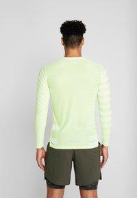 Nike Performance - TECH COOL - Sports shirt - volt/white/reflective silver - 2
