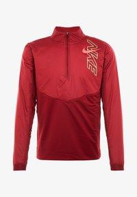Nike Performance - TRACK AIR - Chaqueta de deporte - team red/scream green/bright crimson - 4