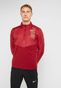 Nike Performance - TRACK AIR - Chaqueta de deporte - team red/scream green/bright crimson - 0