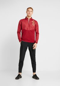 Nike Performance - TRACK AIR - Chaqueta de deporte - team red/scream green/bright crimson - 1