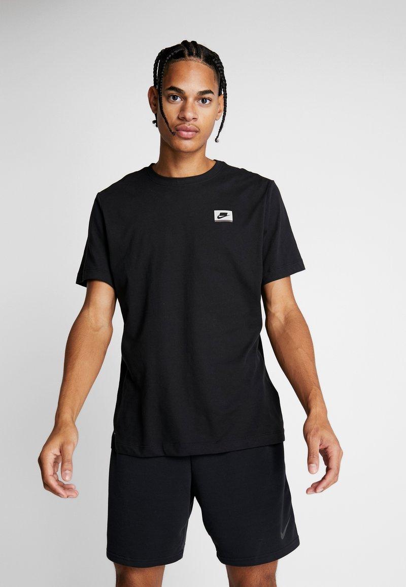 Nike Performance - DRY TEE  - T-shirts print - black