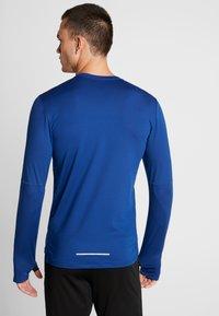 Nike Performance - CREW - Camiseta de deporte - obsidian/indigo force/reflective silver - 2