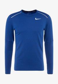 Nike Performance - CREW - Camiseta de deporte - obsidian/indigo force/reflective silver - 4