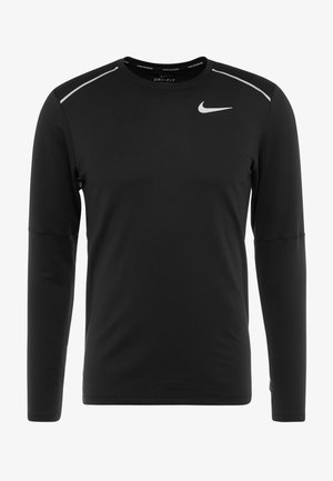 CREW - Treningsskjorter - black/reflective silver
