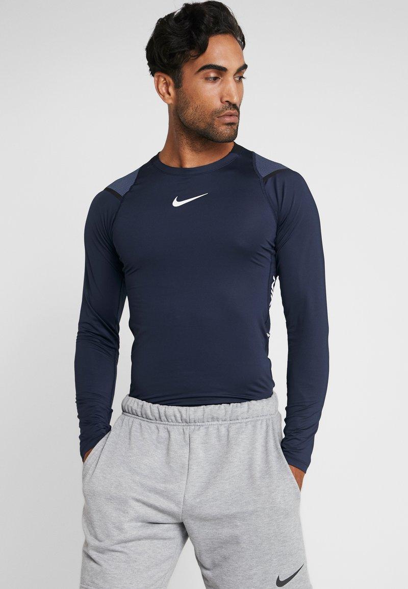 Nike Performance - AEROADPT - Långärmad tröja - obsidian