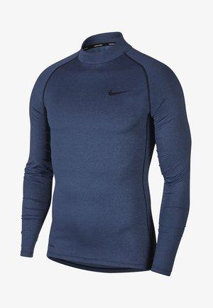 PRO TIGHT MOCK - T-shirt de sport - obsidian/ocean fog/black