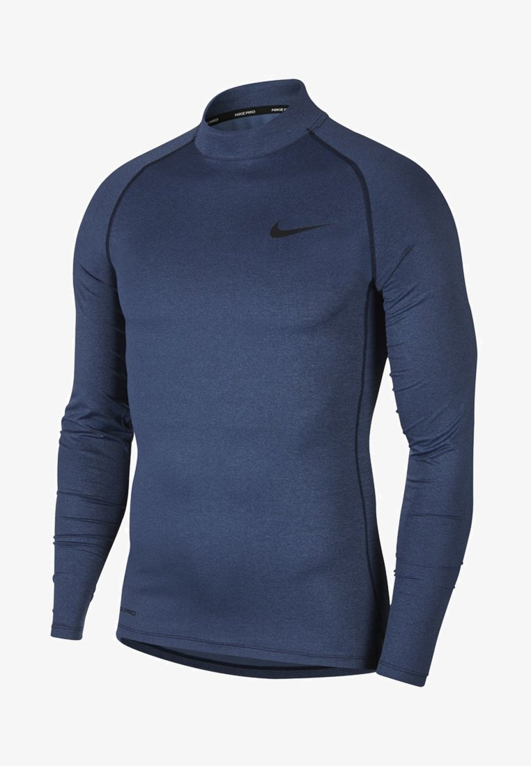 Nike Performance - PRO TIGHT MOCK - Sports shirt - obsidian/ocean fog/black