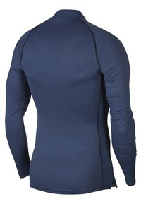Nike Performance - PRO TIGHT MOCK - Sports shirt - obsidian/ocean fog/black - 1