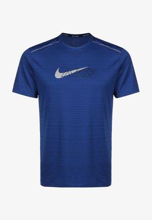 MILER FLASH - T-shirt z nadrukiem - blue