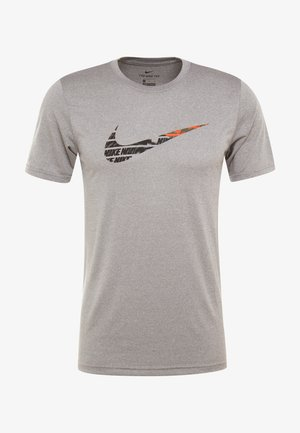 TEE - T-shirt print - grey heather