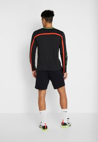 Nike Performance - DRY - Sportshirt - black/habanero red/scream green - 2