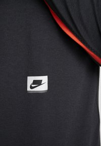 Nike Performance - DRY - Sportshirt - black/habanero red/scream green - 7