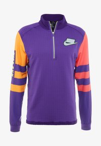 Nike Performance - WILD RUN MIDLAYER - Camiseta de deporte - court purple/kumquat/reflective silver - 7