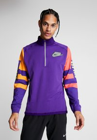 Nike Performance - WILD RUN MIDLAYER - Camiseta de deporte - court purple/kumquat/reflective silver - 0