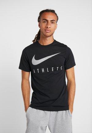 DRY TEE - T-shirt imprimé - black
