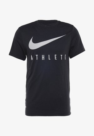 DRY TEE - T-shirt med print - black