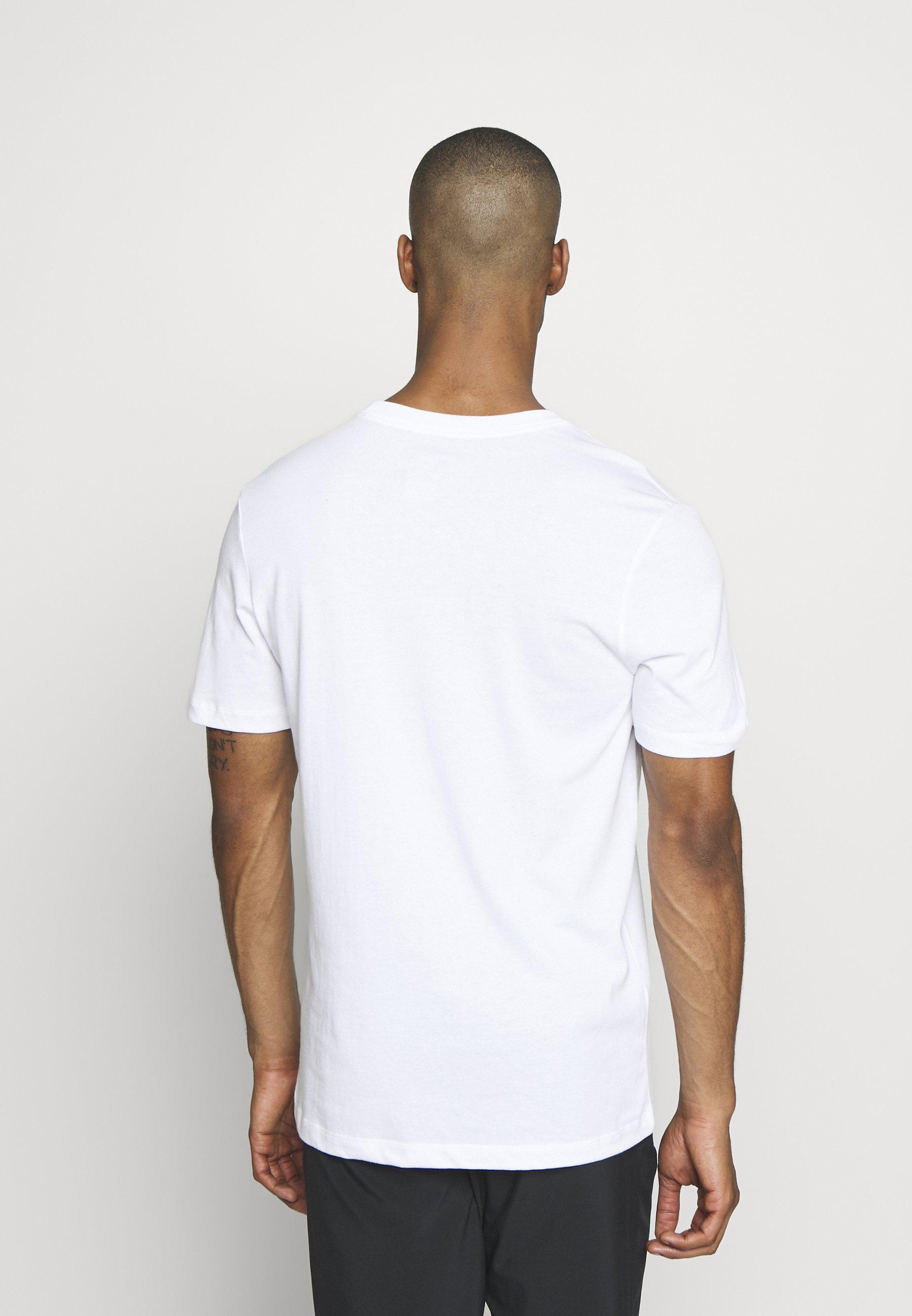 Nike Performance DRY RUN - T-shirt imprimé - white