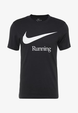 DRY RUN  - Camiseta estampada - black/white