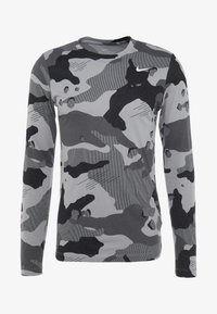 Nike Performance - DRY CAMO - T-shirt de sport - smoke grey - 4