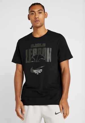 LEBRON JAMES BALL TEE - T-shirt con stampa - black