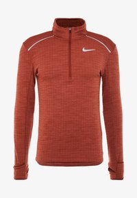 Nike Performance - M NK SPHR ELMNT  - Camiseta de deporte - cinnamon/heather/silver - 4