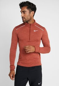 Nike Performance - M NK SPHR ELMNT  - T-shirt sportiva - cinnamon/heather/silver - 0