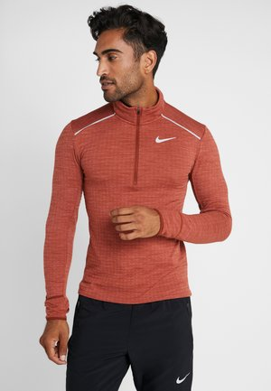 M NK SPHR ELMNT  - Sports shirt - cinnamon/heather/silver