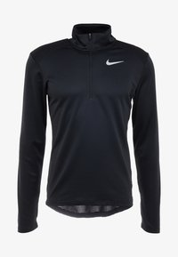 Nike Performance - PACER - Sports shirt - black/reflective silver - 6