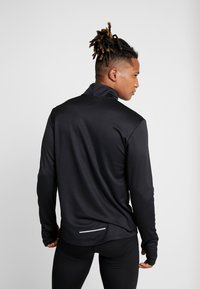 Nike Performance - PACER - Sports shirt - black/reflective silver - 2