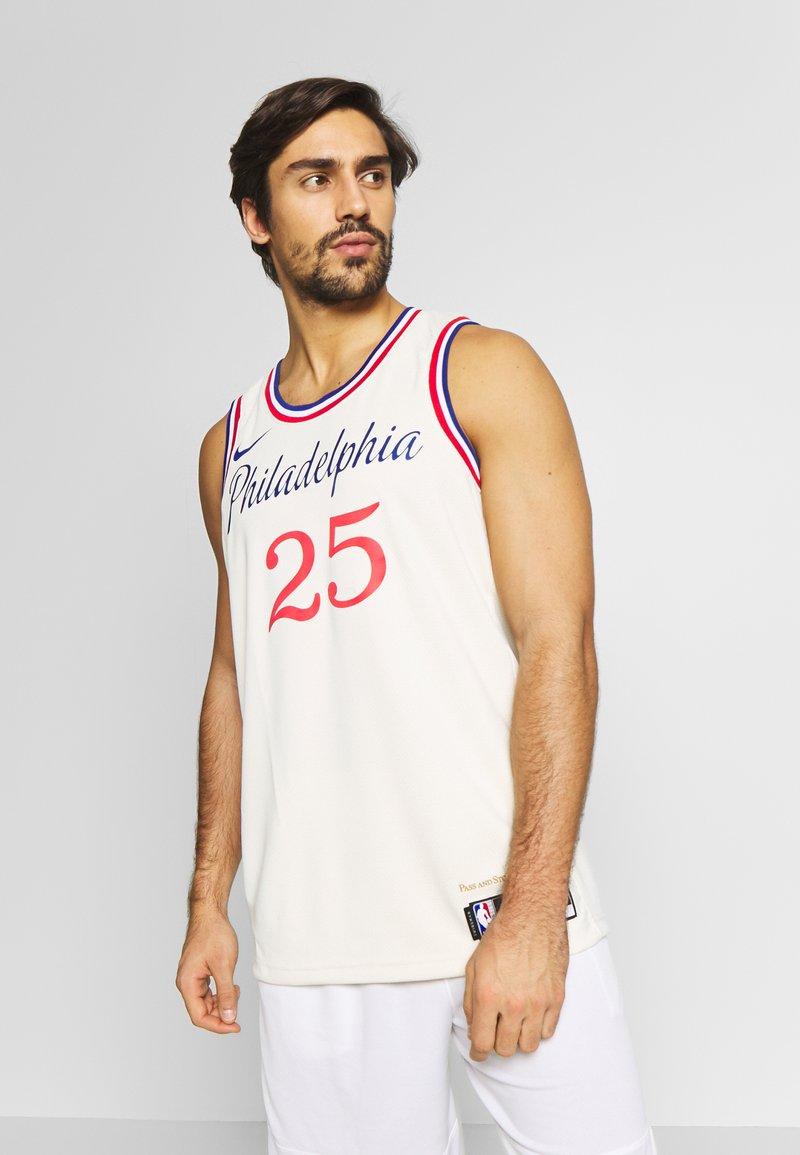 Nike Performance - NBA CITY EDITION PHILADELPIA 76ERS BEN SIMMONS SWINGMAN - Artykuły klubowe - flat opal