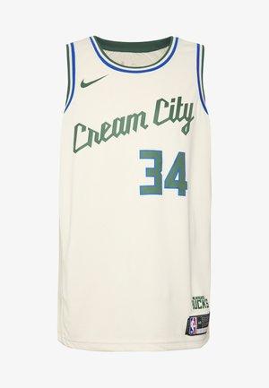 NBA CITY EDITION MILWAUKEE BUCKS GIANNIS ANTETOKOUNMPO - Klubové oblečení - flat opal