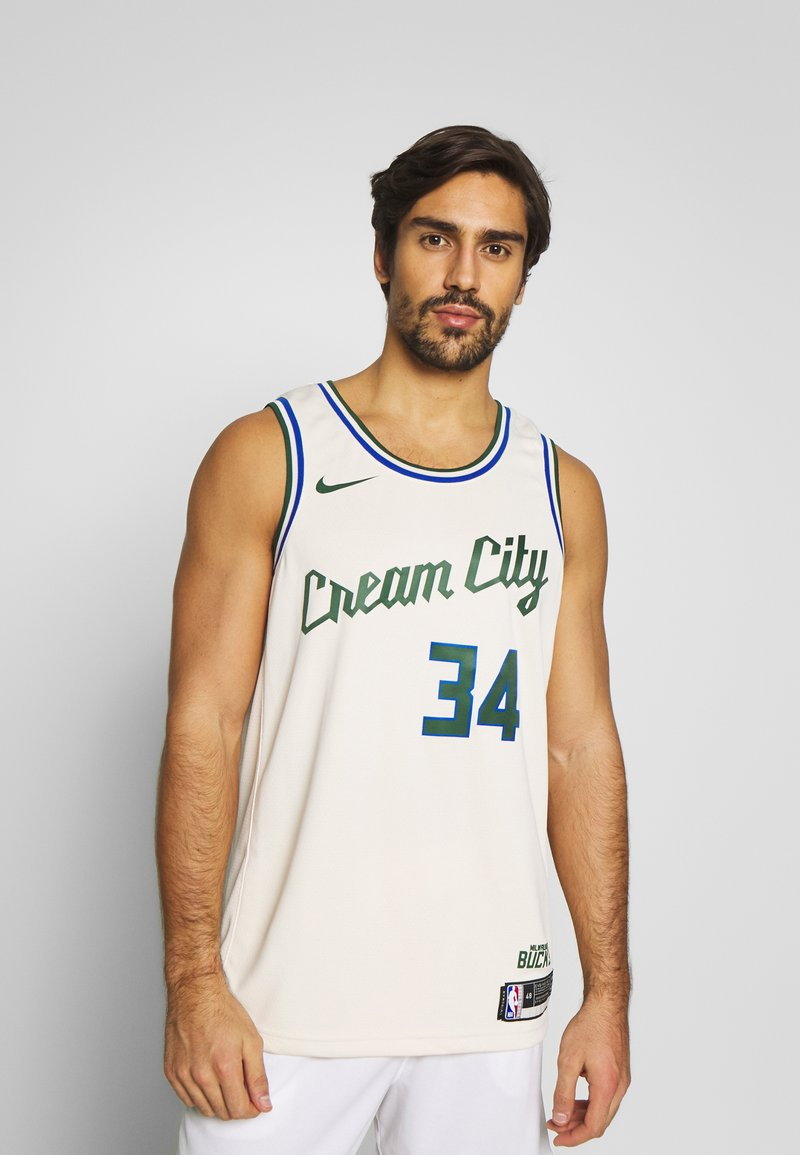 Nike Performance - NBA CITY EDITION MILWAUKEE BUCKS GIANNIS ANTETOKOUNMPO - Klubbklær - flat opal