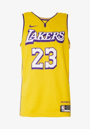 NBA CITY EDITION LA LAKERS LEBRON JAMES SWINGMAN  - Article de supporter - amarillo