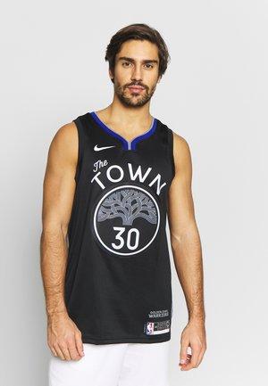 NBA CITY EDITION GOLDEN STATE WARRIORS STEPH CURRY SWINGMAN - Equipación de clubes - black/dark steel grey/rush blue/white