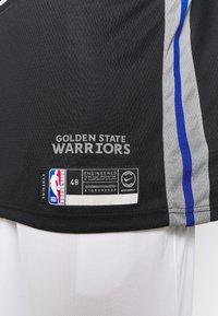 Nike Performance - NBA CITY EDITION GOLDEN STATE WARRIORS STEPH CURRY SWINGMAN - Artykuły klubowe - black/dark steel grey/rush blue/white - 5
