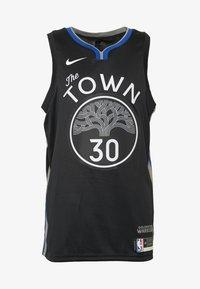 Nike Performance - NBA CITY EDITION GOLDEN STATE WARRIORS STEPH CURRY SWINGMAN - Artykuły klubowe - black/dark steel grey/rush blue/white - 4
