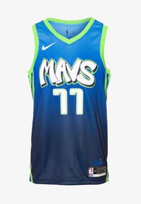 Nike Performance - NBA CITY EDITION DALLAS MAVERICKS LUKA DONCIC SWINGMAN - Klubbklær - college navy/action green/white