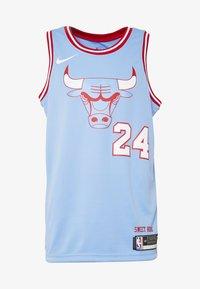 Nike Performance - NBA CITY EDITION CHICAGO BULLS LAURI MARKKANEN SWINGMAN - Artykuły klubowe - valor blue - 4