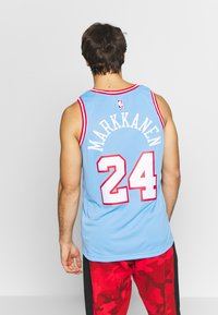 Nike Performance - NBA CITY EDITION CHICAGO BULLS LAURI MARKKANEN SWINGMAN - Artykuły klubowe - valor blue - 2