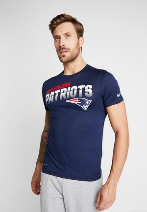 NFL NEW ENGLAND PATRIOTS TEE - T-shirt con stampa - college navy