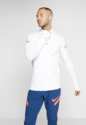 DRIL - Sports shirt - white/metallic silver